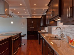 Ocean Front Condo Interior Design Kitchen