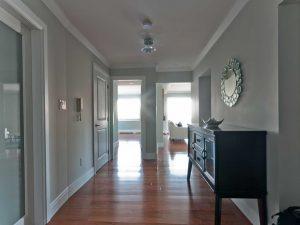 Ocean Front Condo Interior Design Front Hall