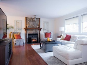 Neutral Palette Interiror Design Living Room