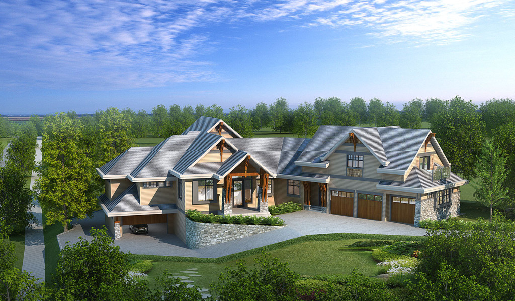Modern Traditional Custom Home Design