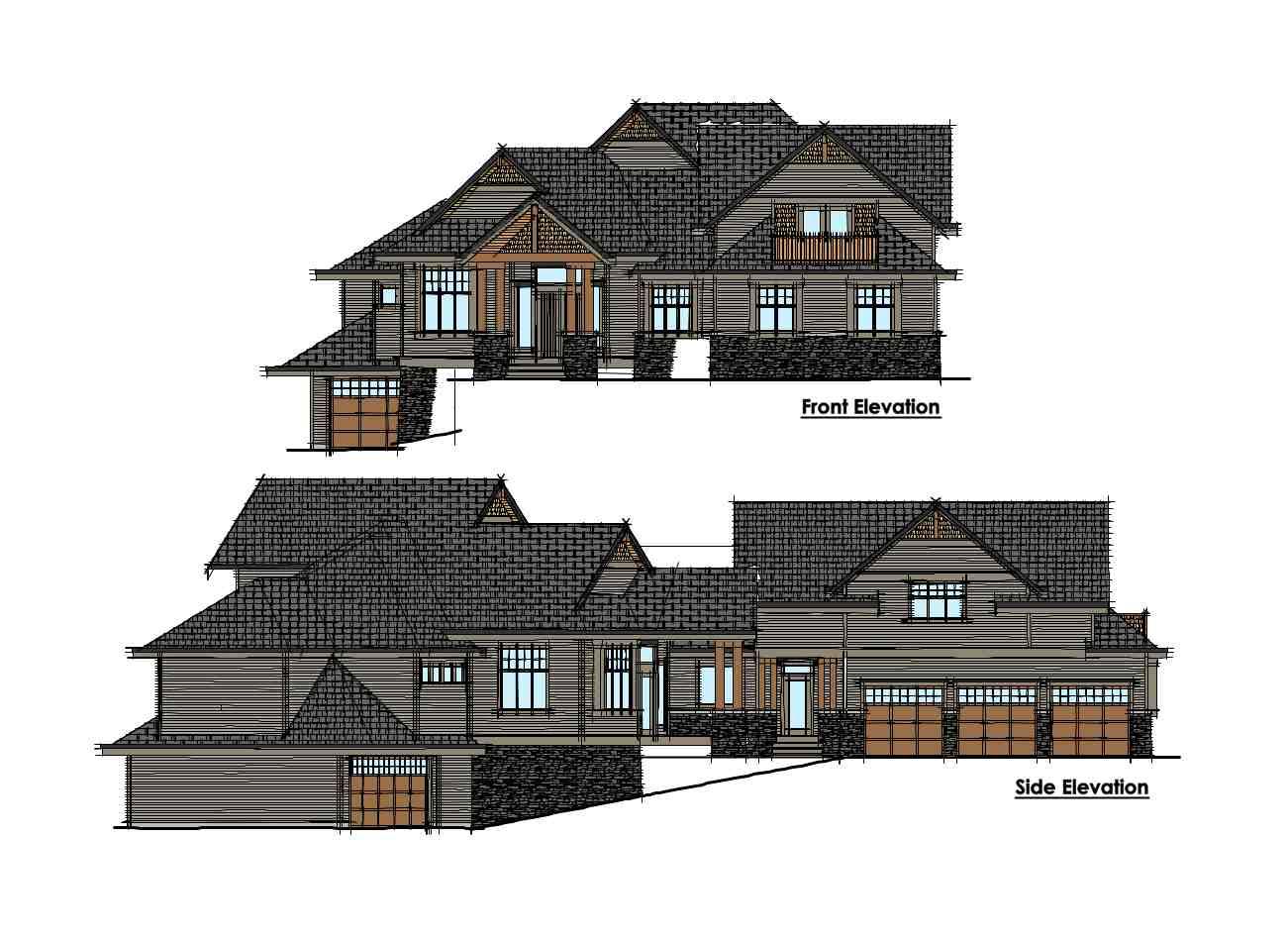 Custom Home Desgin - Elevations