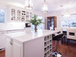 Neutral Palette Interiror Design Kitchen