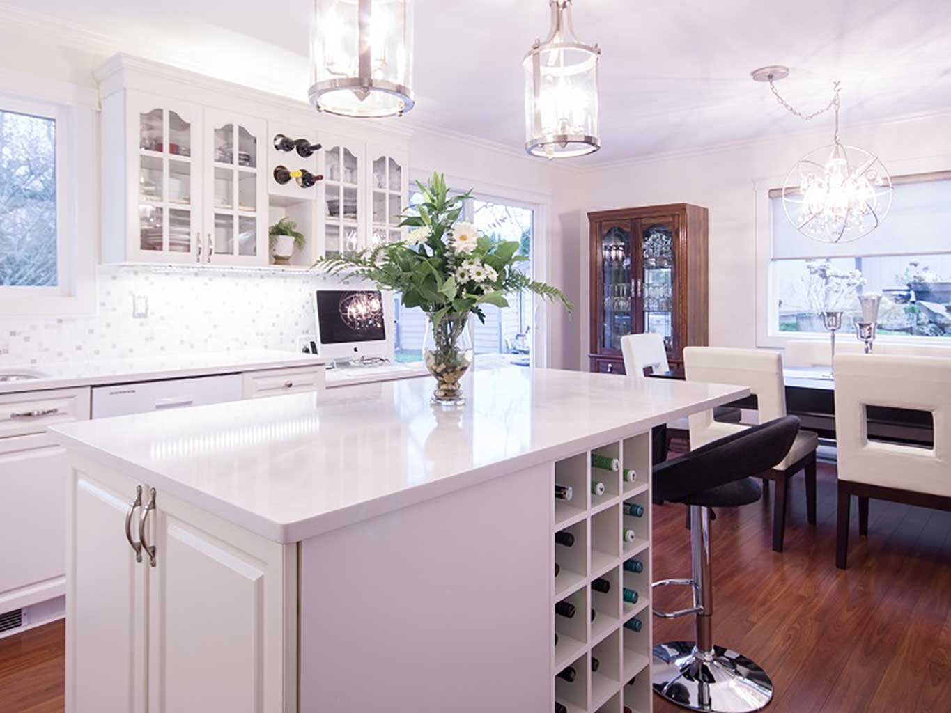 Neutral Palette Interiror Design Kitchen