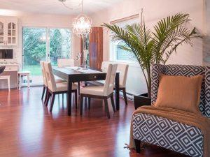Neutral Palette Interiror Design Dining Room