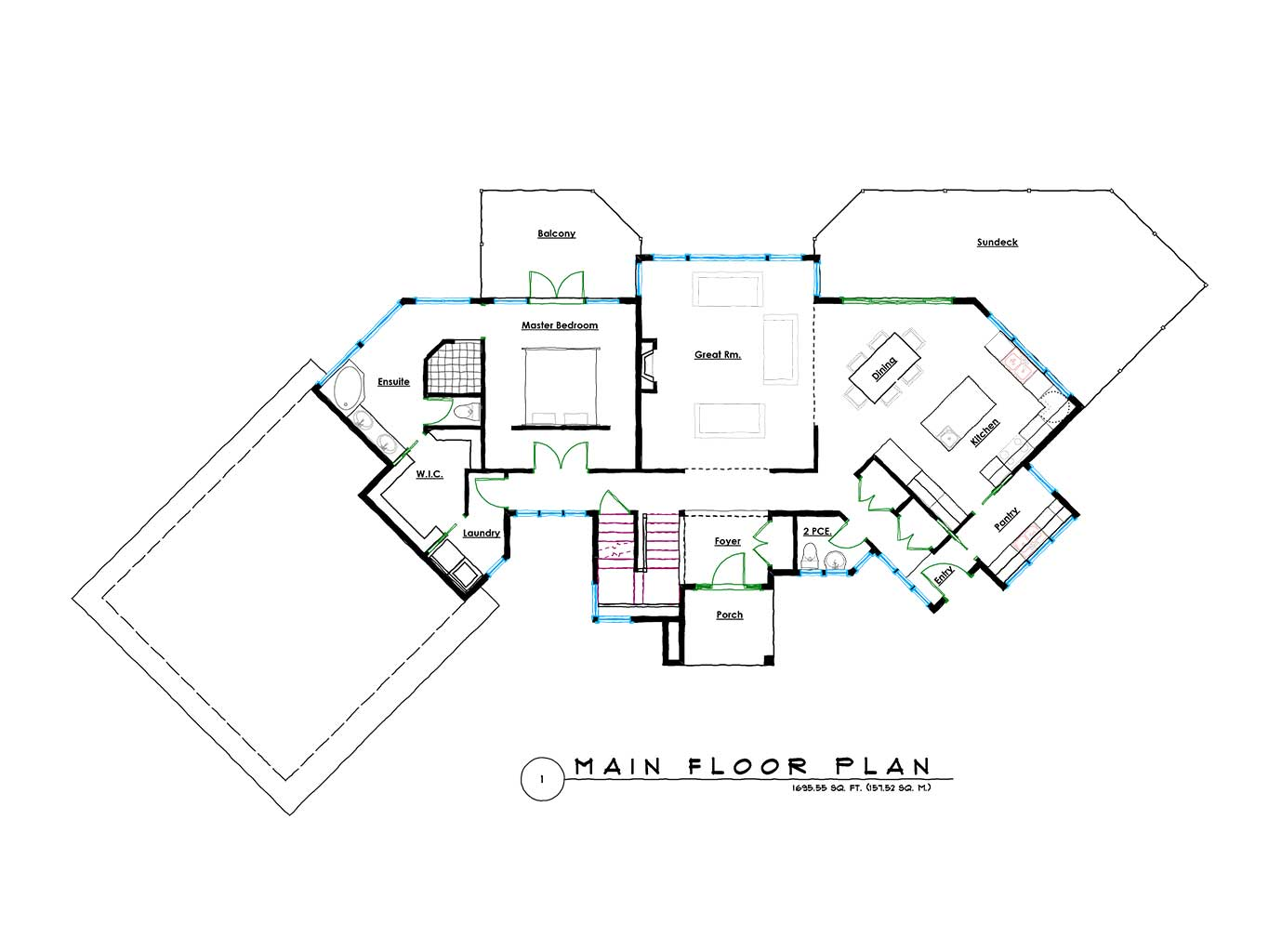malahat custom dream home design step one design