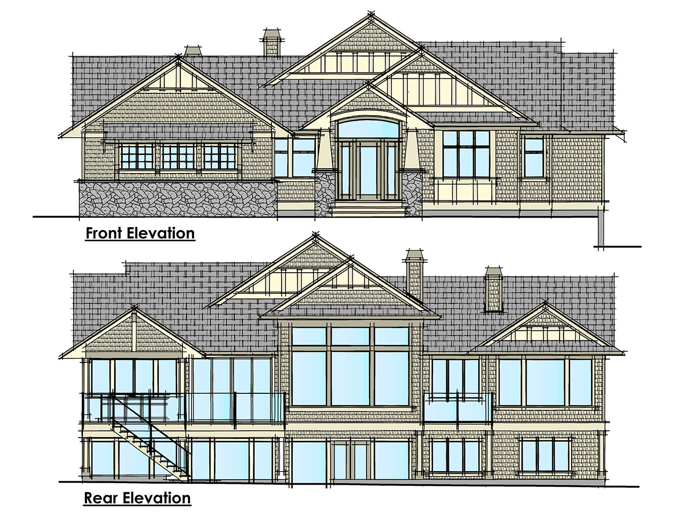 Lochside Elevations
