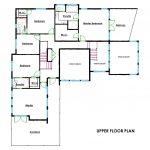 Creative Custom Home Design Upper Floor Plans