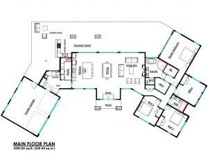 Contemporary Home Design Floor Plans
