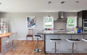 Warm Contemporary Kitchen